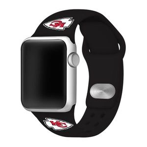 Kansas City Chiefs Apple Compatible Watchband